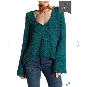 FREE PEOPLE SAND DUNE KNIT PULLOVER SWEATER ❤️❤️